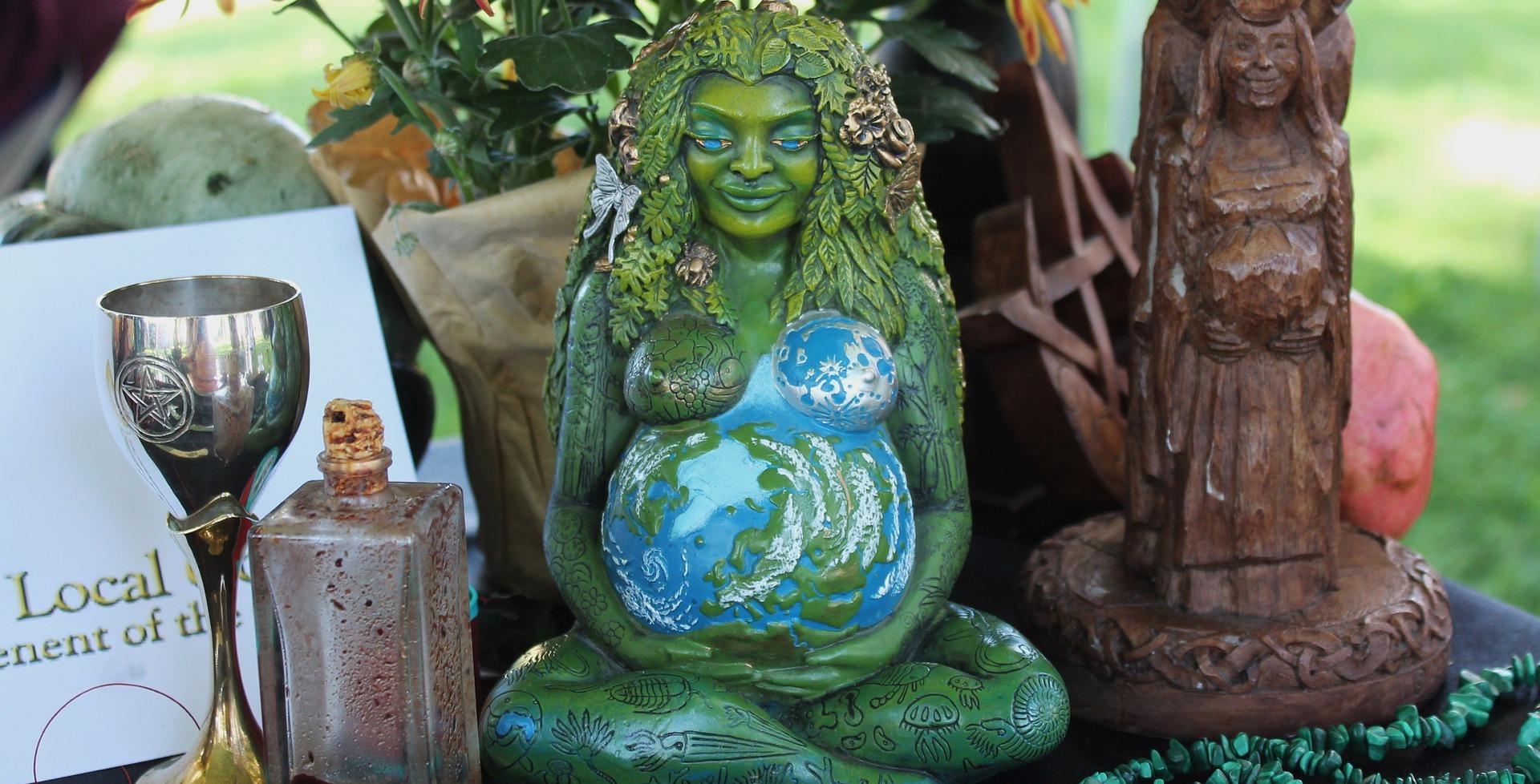 Pregnant Goddess